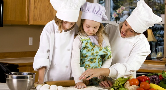 Recipes and Tips for Cooking with the Kids